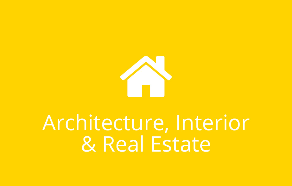 Architecture, Interior & Real Estate