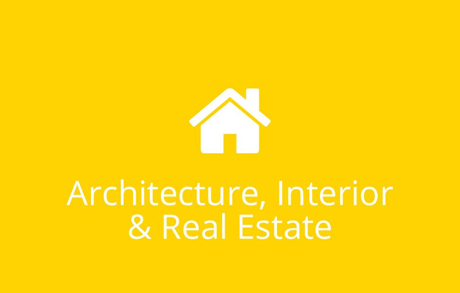 Architecture, Interior & Real Estate